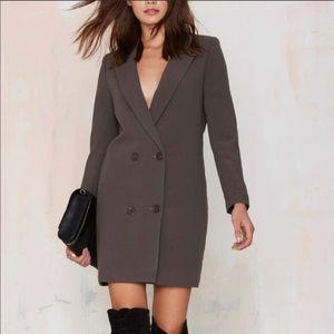 Nasty Gal blazer dress